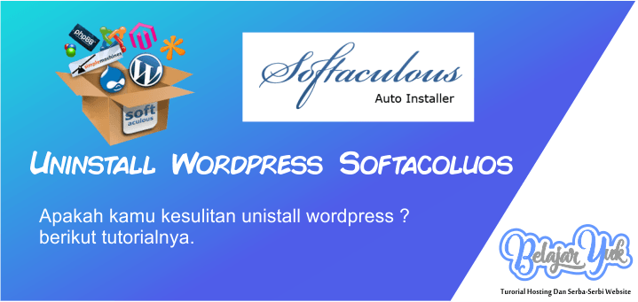 Uninstall wordpress softacolus